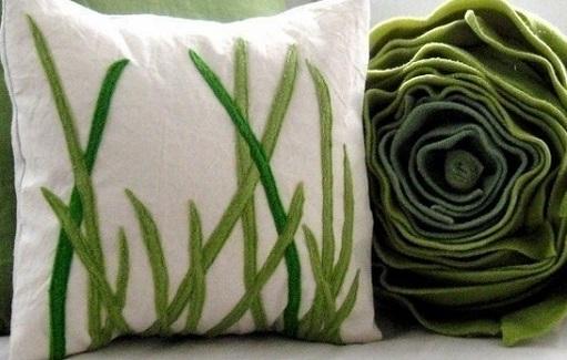 подушка травы