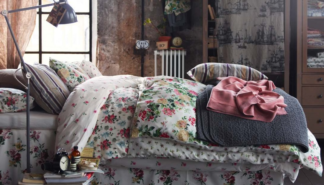 postel na dachu